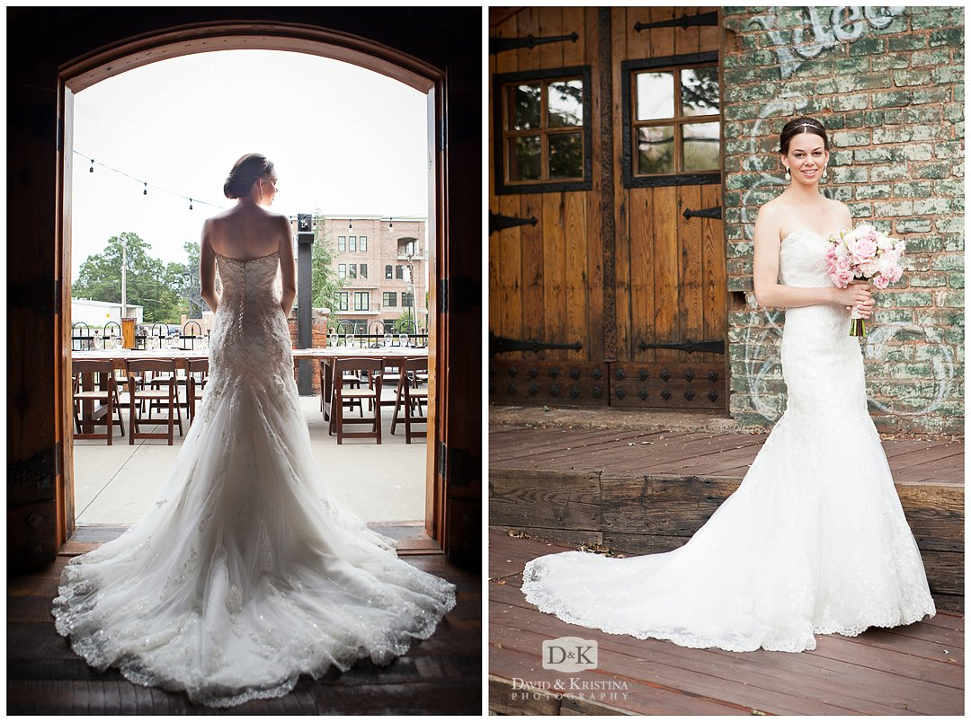 Tammy's Bridal Portrait at The Old Cigar Warehouse