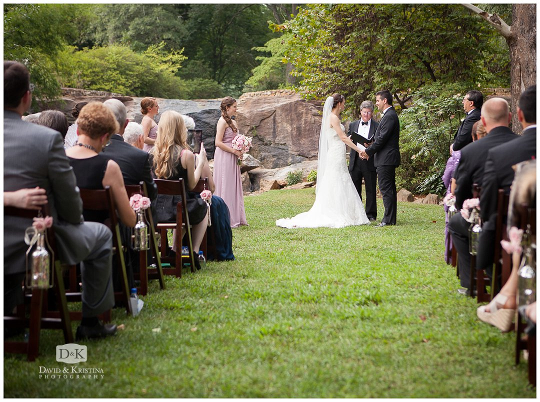 Rock Quarry Garden wedding
