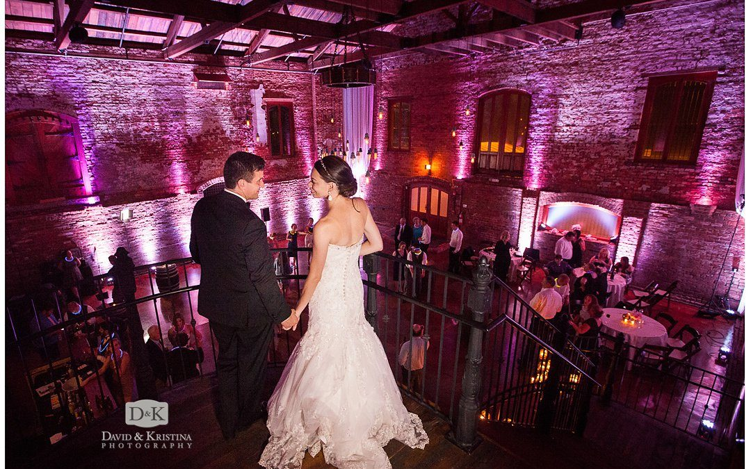 Rock Quarry Garden Wedding and Reception at The Old Cigar Warehouse