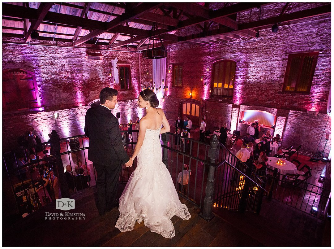 wedding ceremony at The Old Cigar Warehouse
