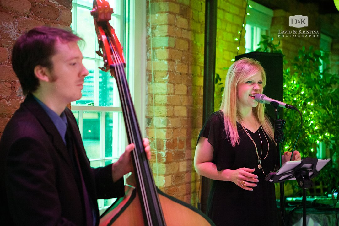 Erica Berg wedding band Collective Music Solutions