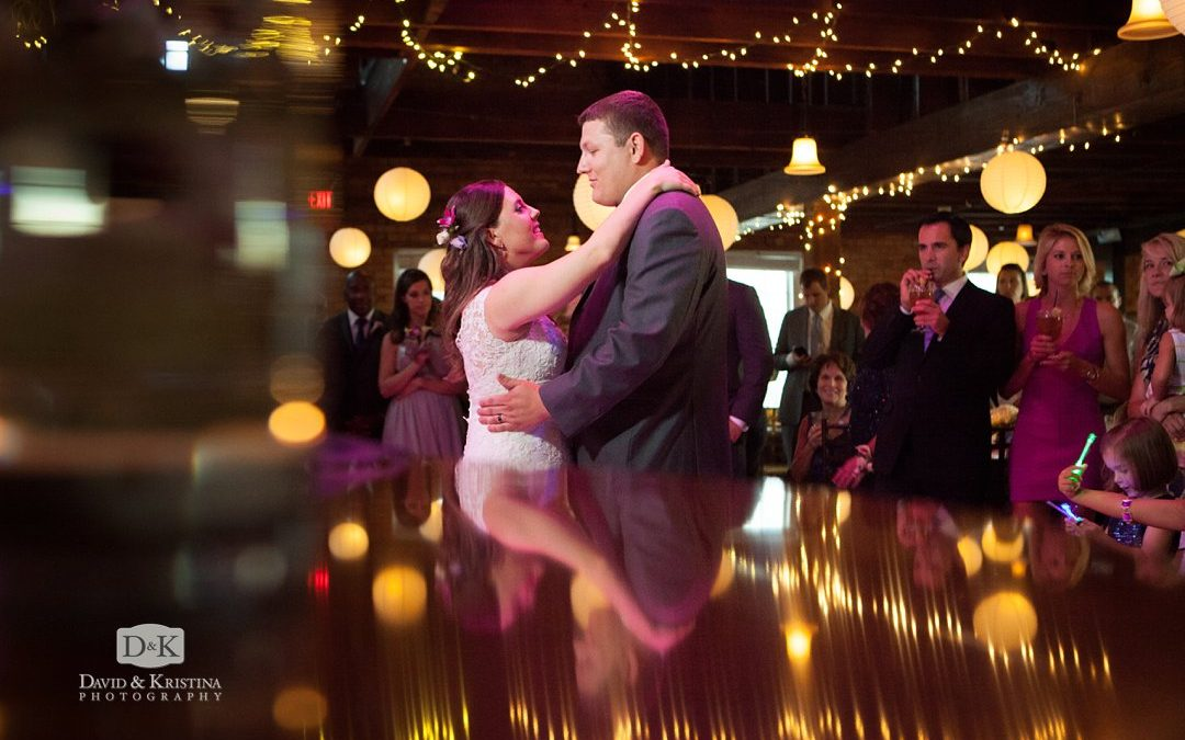 Larkin's Cabaret Room Wedding Reception | David & Melissa