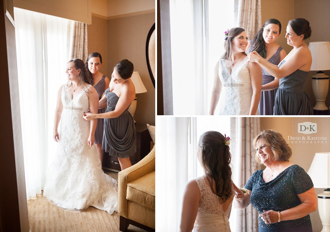 bridal suite Westin Poinsett hotel
