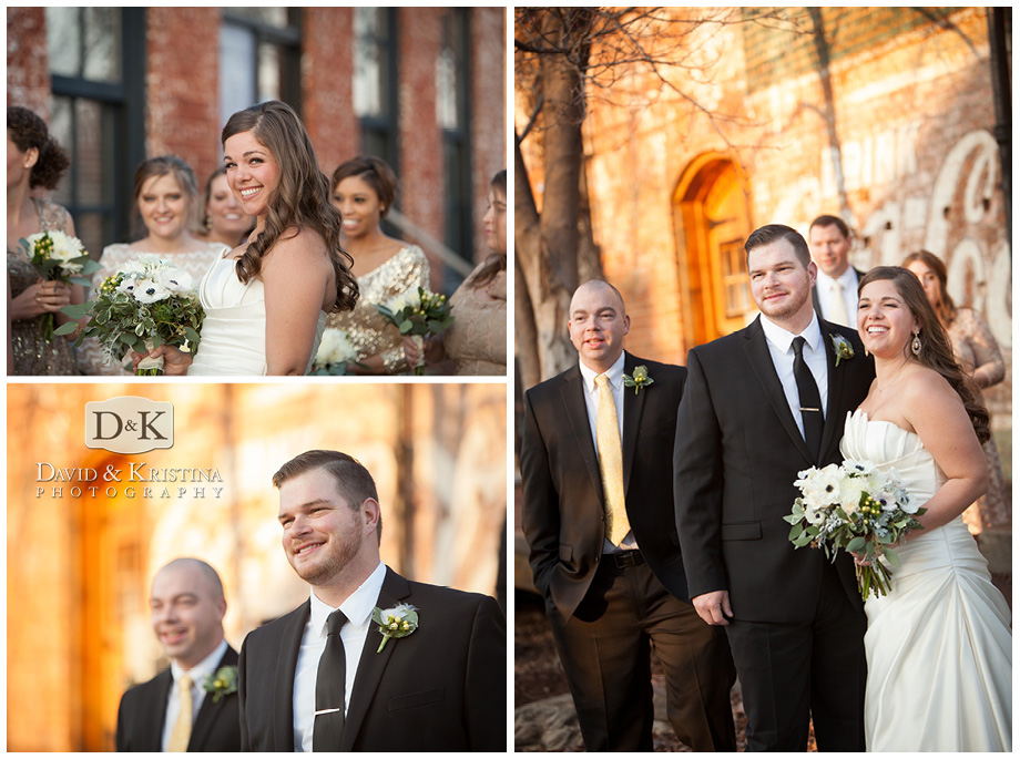 wedding photos on new years eve at The Old Cigar Warehouse