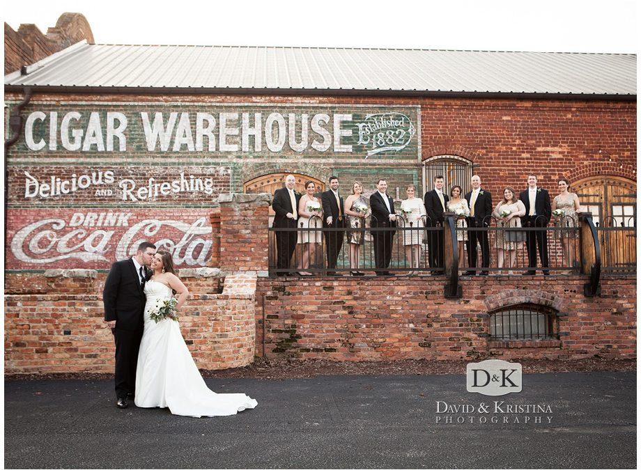 Old Cigar Warehouse Wedding | Donnie & Monica