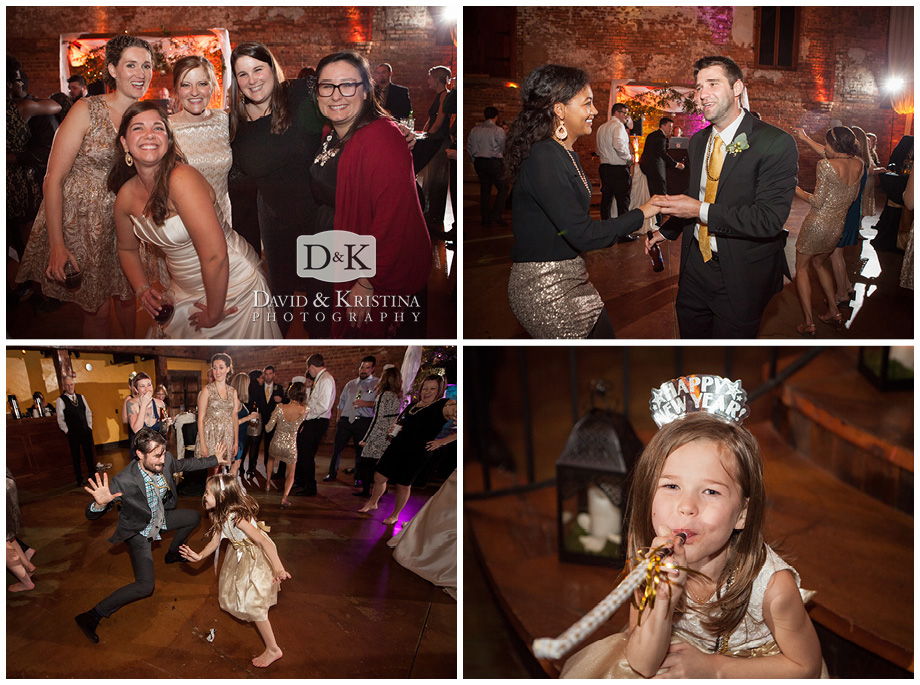 dancing at wedding reception with entertainment by Jumping Jukebox