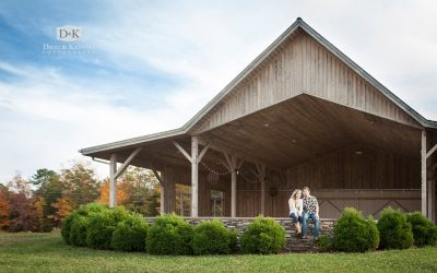 Jack and Jill's Engagement Photos at Chattooga Belle Farm