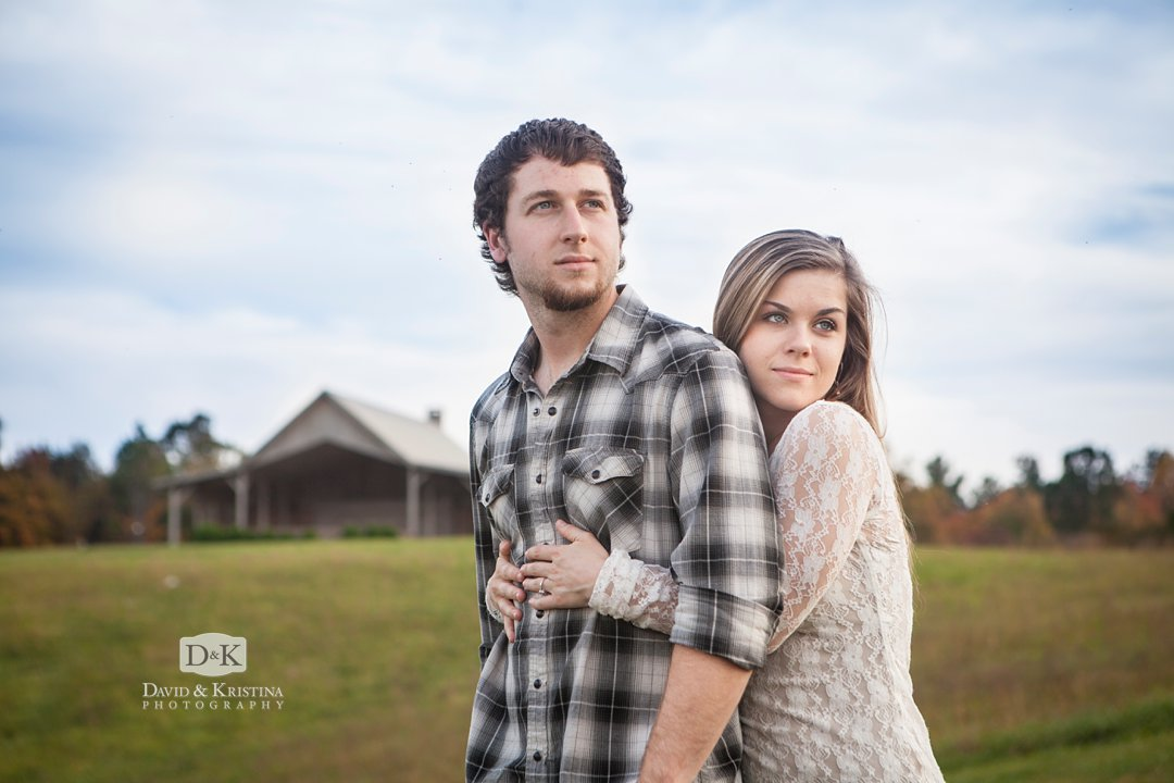 Chattooga Belle Farm engagement photos of Jack and Jill