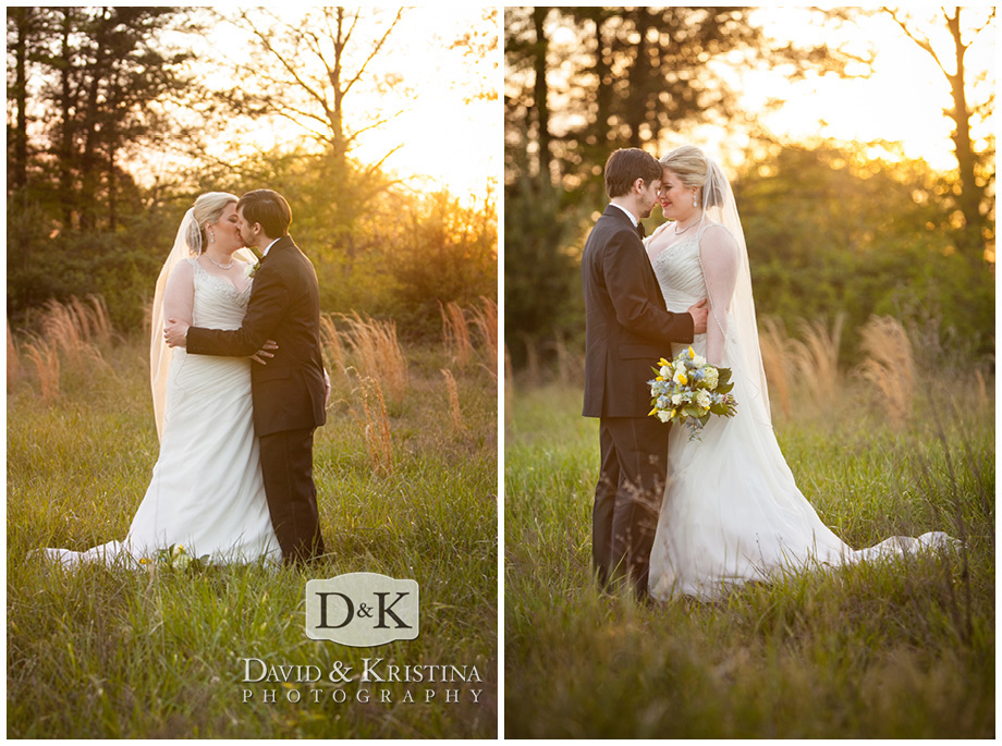 romantic photos of bride and groom at Twigs Tempietto