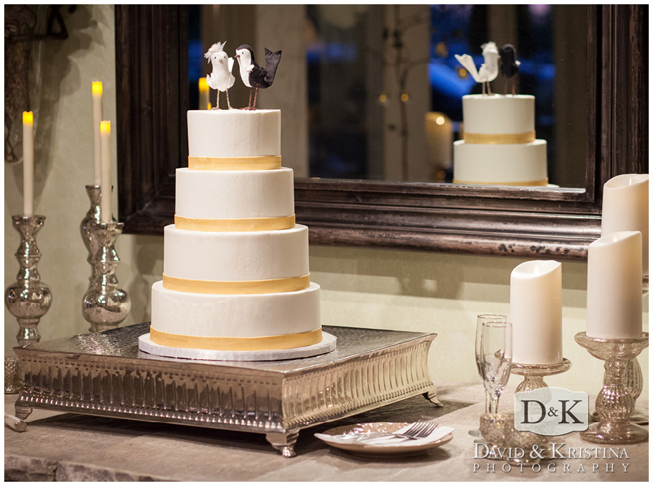 wedding cake by Couture Cakes of Greenville
