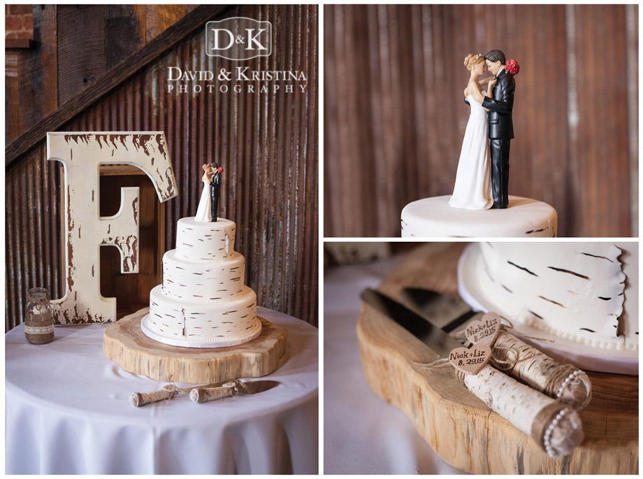 Frantz wedding cake and cutlery