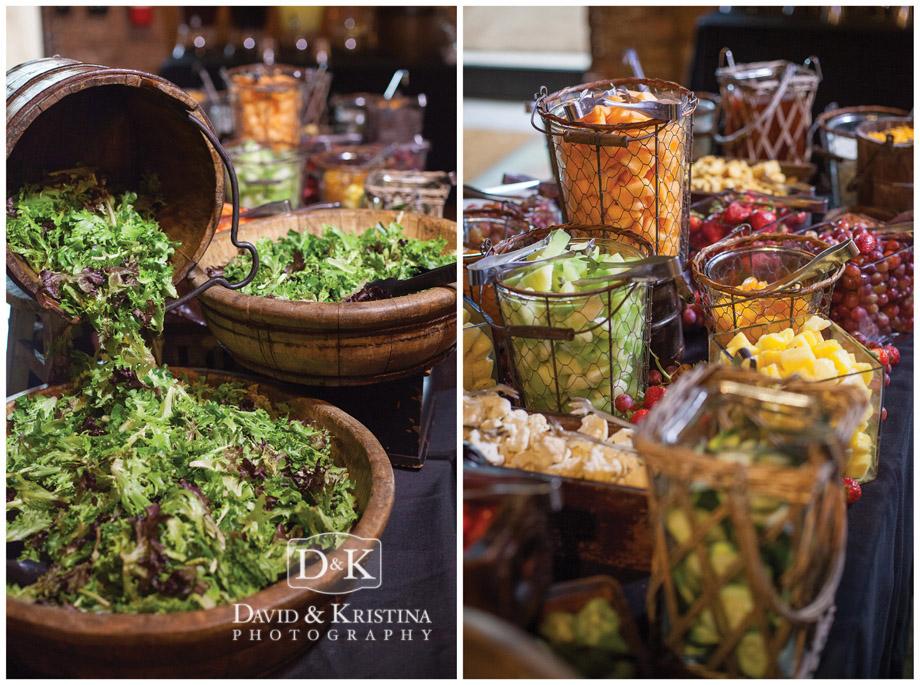Dinner at reception