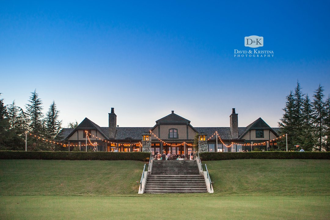 Orchard Clubhouse during wedding at The Reserve at Lake Keowee