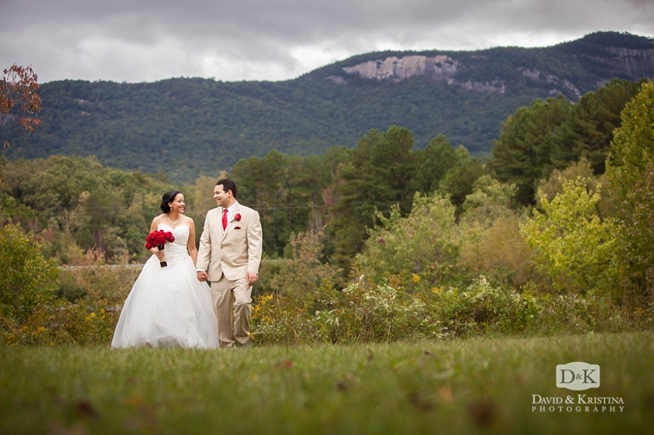 wedding photos at Table Rock Visitor's Center