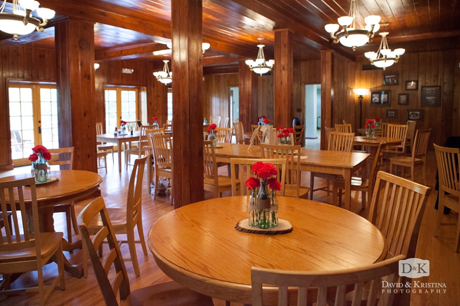 interior dining area at Table Rock Lodge