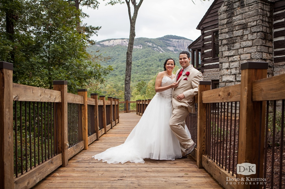 wedding photos at Table Rock Lodge