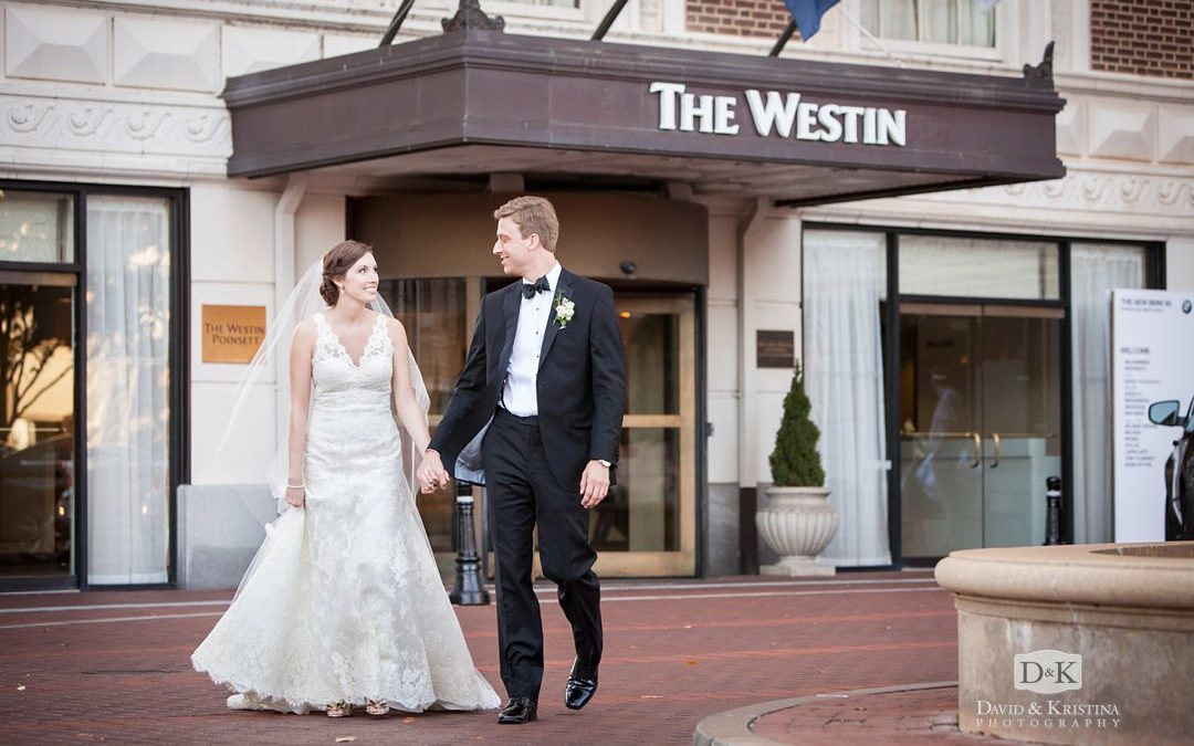Westin Poinsett Wedding Reception | Thomas & Laura