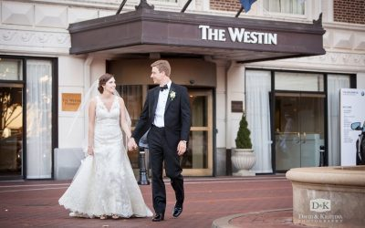 Westin Poinsett Wedding Reception   Thomas & Laura