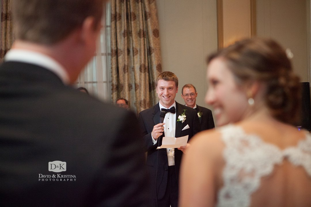 best man gives a funny toast