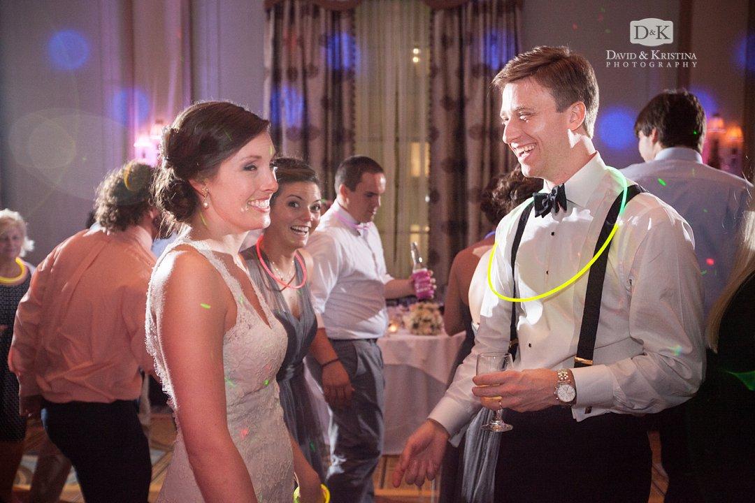 Thomas and Laura dancing at their wedding reception