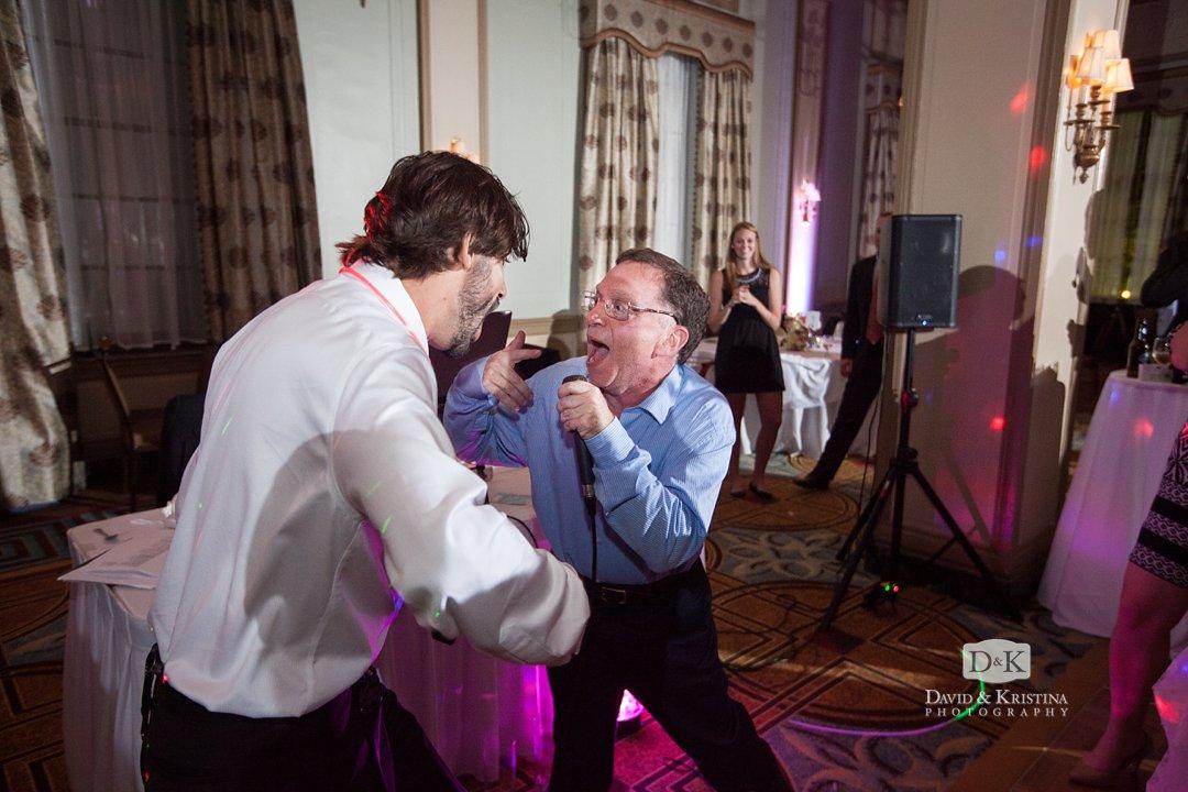 DJ Arthur at wedding reception