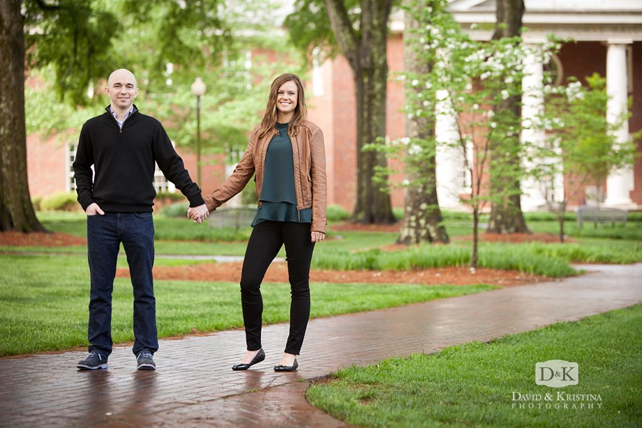 Furman engagment pictures