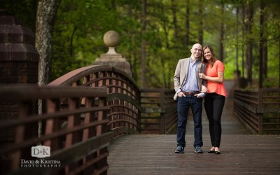 Charlie and Leiah's Engagement Session at Furman University