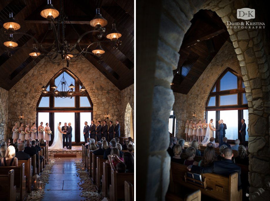 The Cliffs Chapel wedding