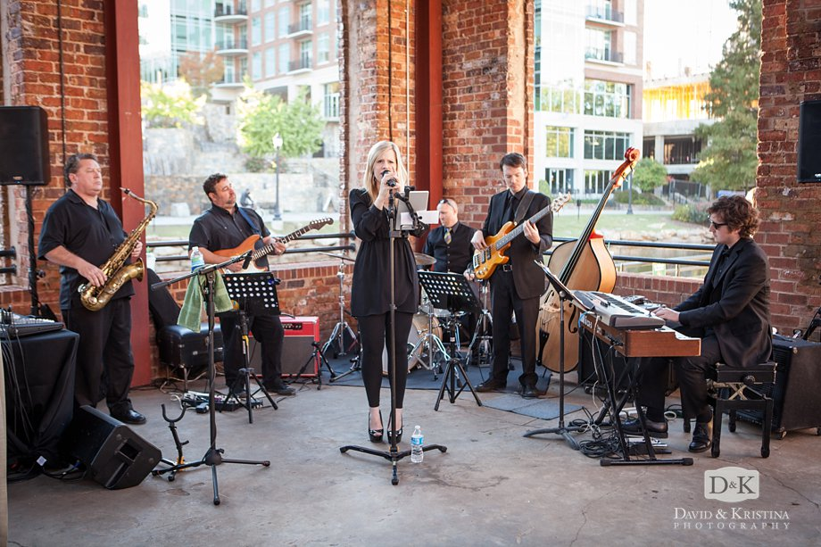 The Erica Berg Collective wedding band