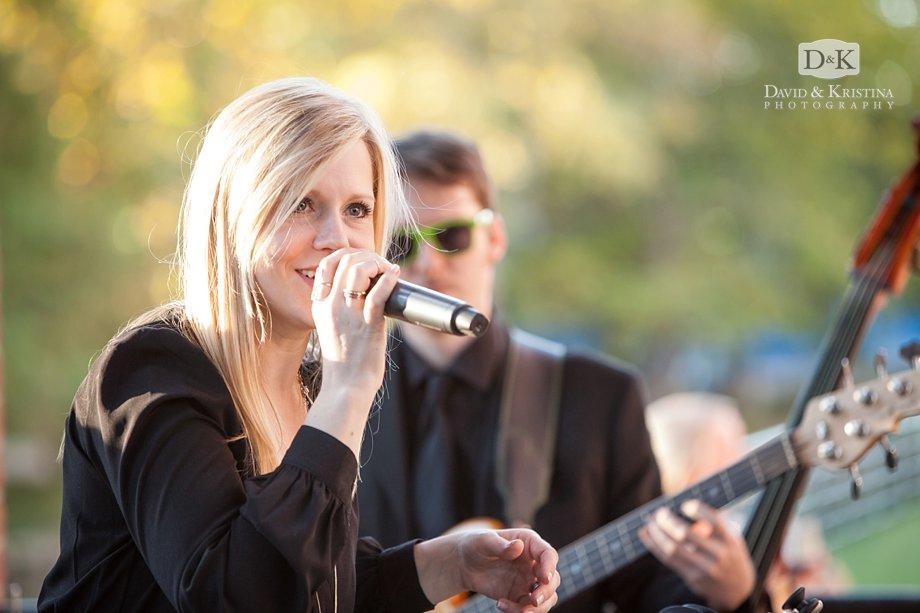 Erica Berg singing