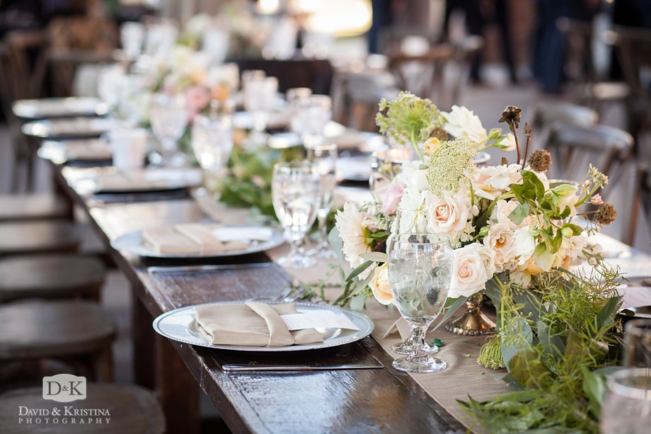 wedding reception styled by ModFete