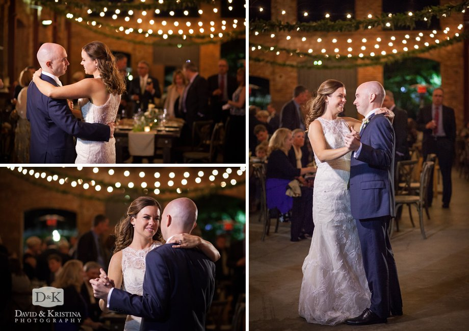 Charlie and Leiah share their first dance as husband and wife