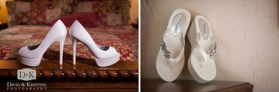 casual and formal wedding shoes