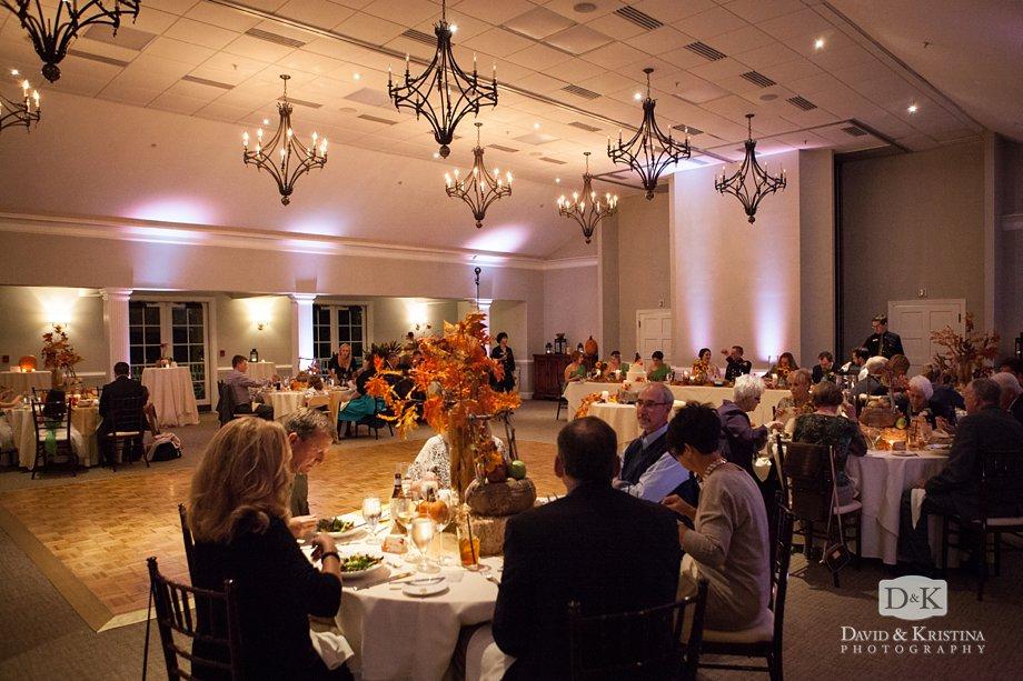 Cliffs Valley Clubhouse wedding reception