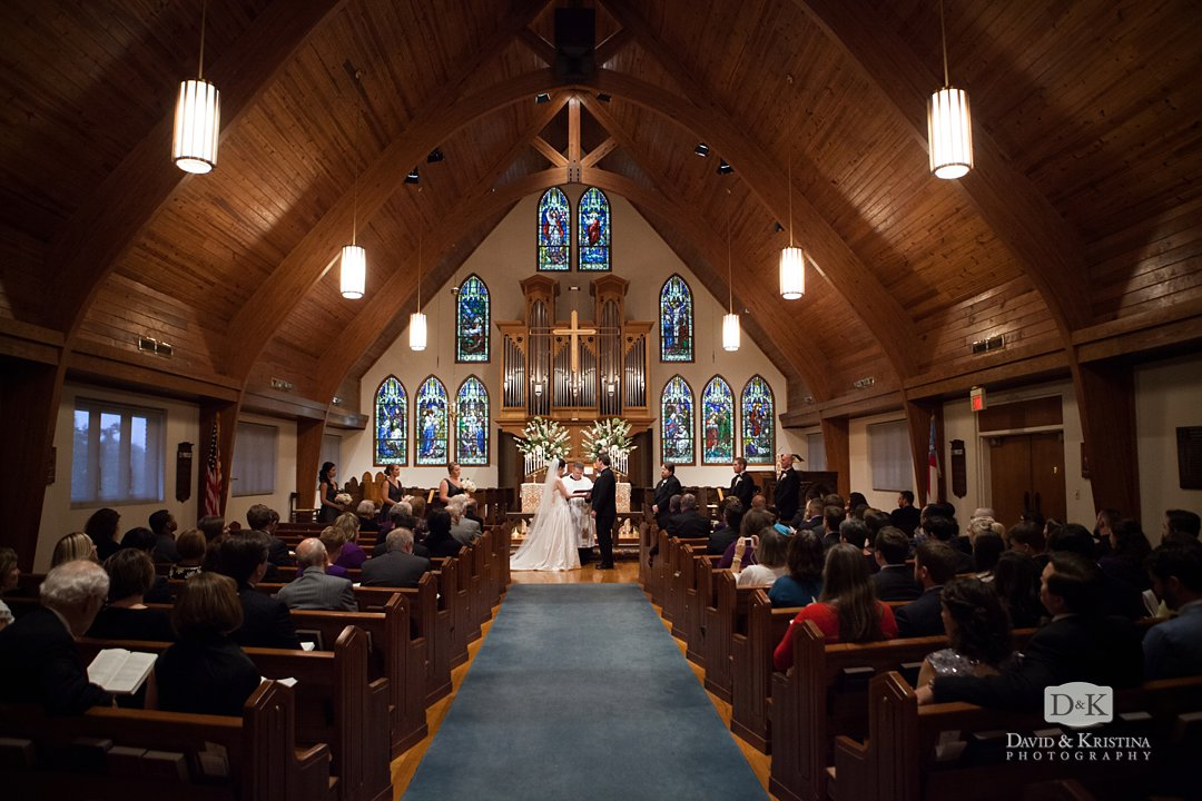 wedding at St. James Episcopal Church