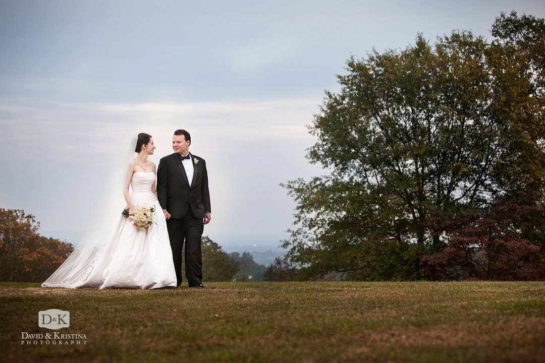 Chris and Catie are married at St. James Episcopal Church near Paris Mountain