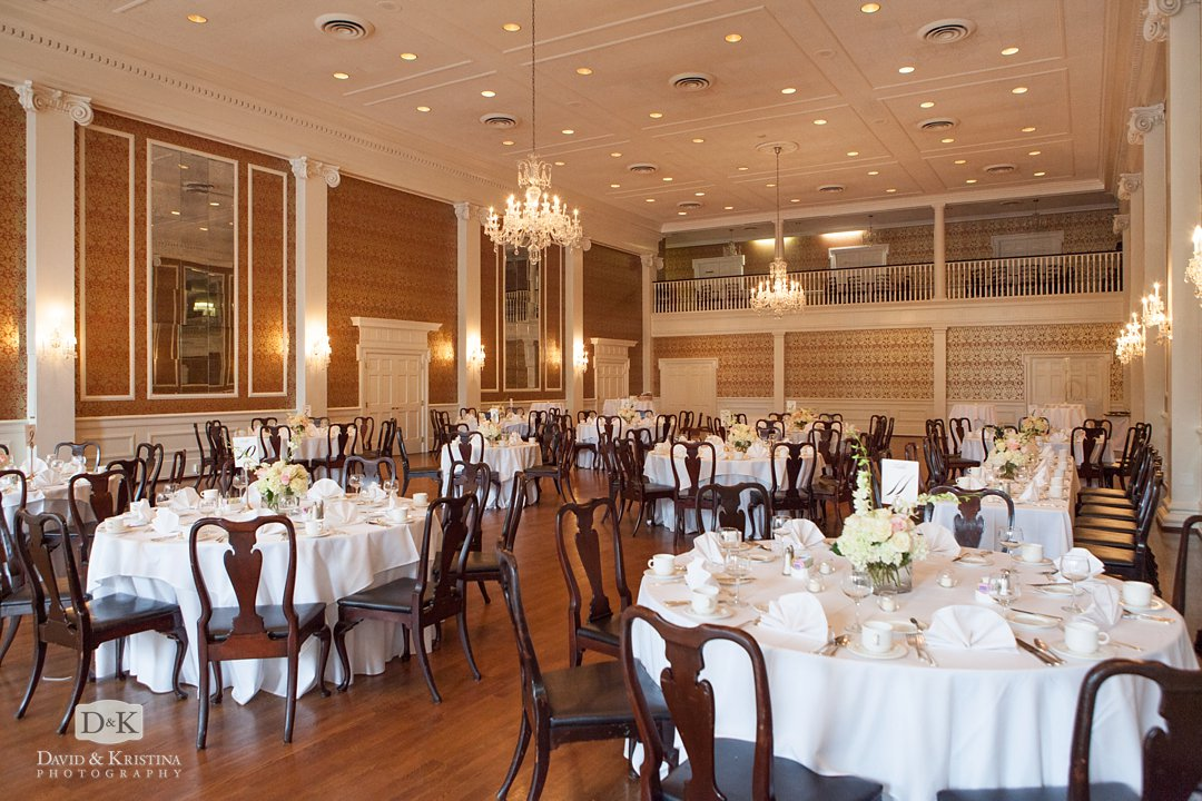 The Poinsett Club ballroom