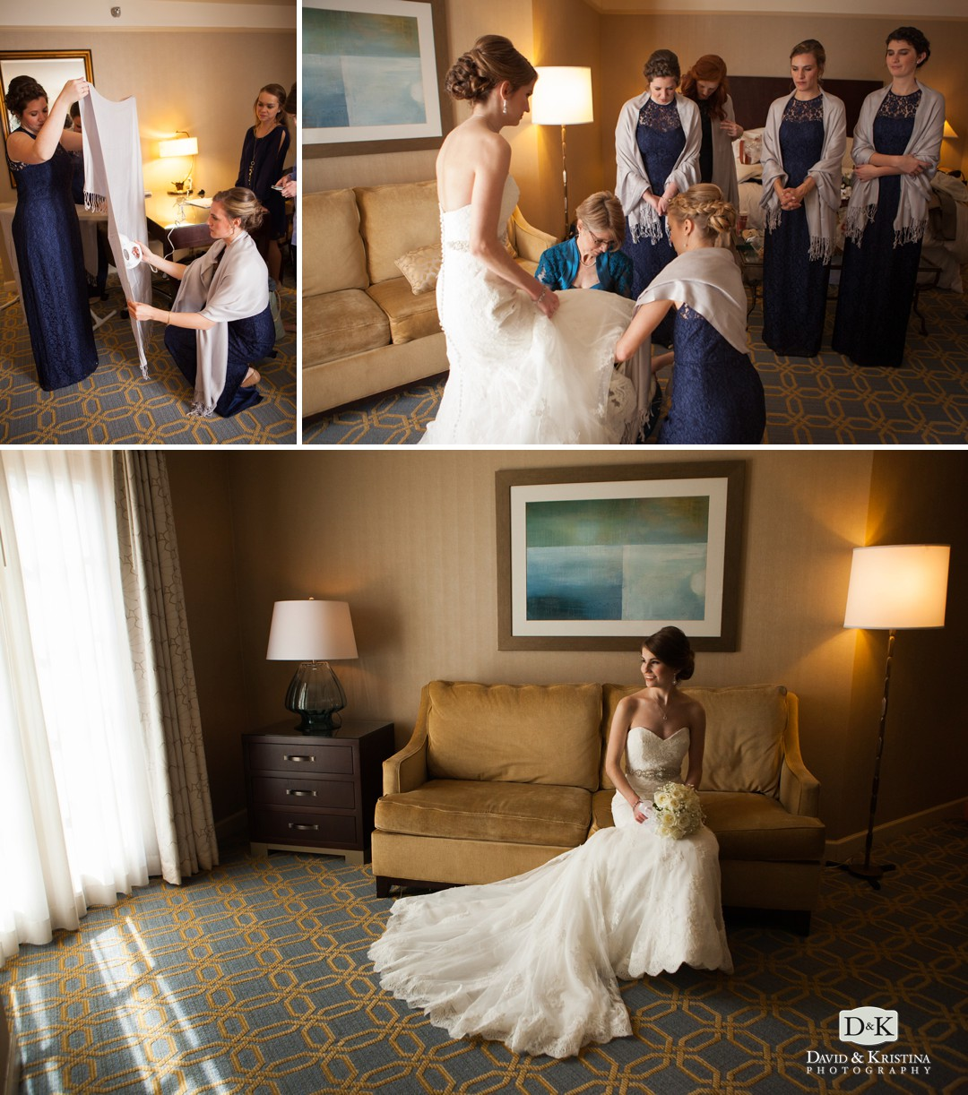 The Westin Poinsett is a great hotel and wedding venue for a bride to get ready