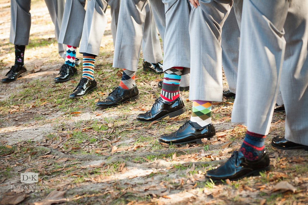 colorful socks for groomsmen