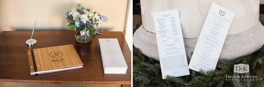 wedding guest register