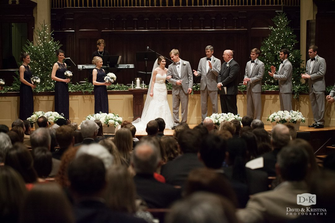introducing Mr. and Mrs. Timothy Hall