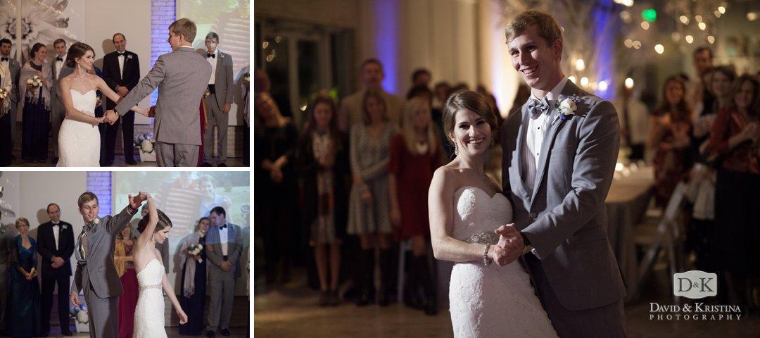 Bride and groom first dance at Zen