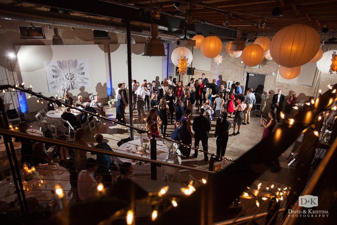wedding reception at Zen
