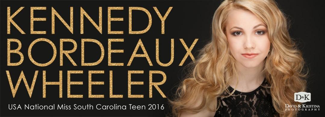 USA National Miss South Carolina Teen 2016 – Kennedy Bordeaux Wheeler