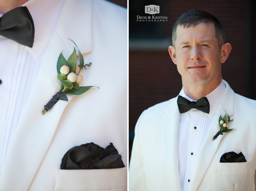 Mike's groom portrait