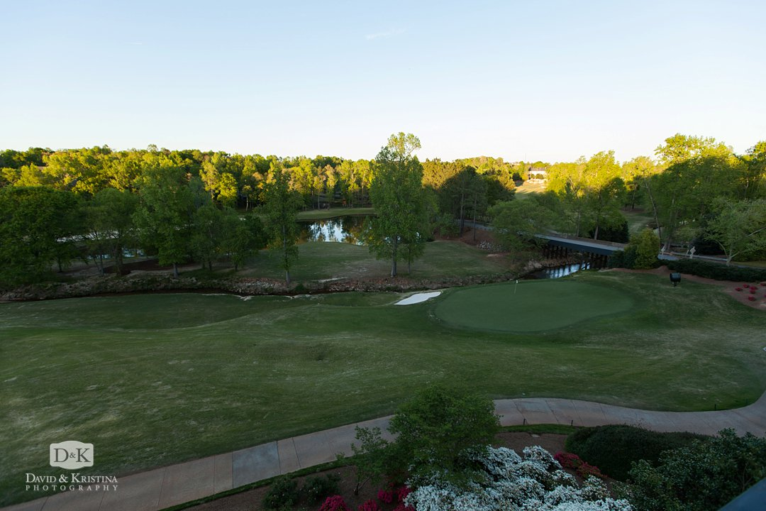 view of golf course from Thornblade clubhouse
