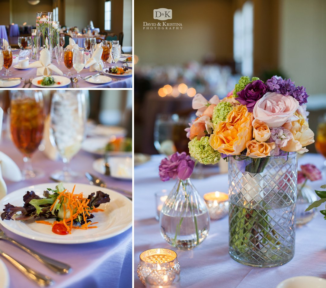 Floral arrangements at Thornblade by Poppy Designs