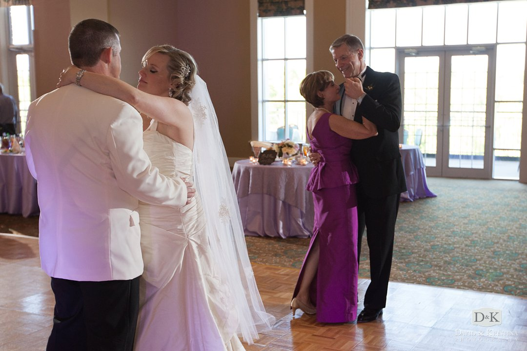 couples dance at Thornblade Country Club