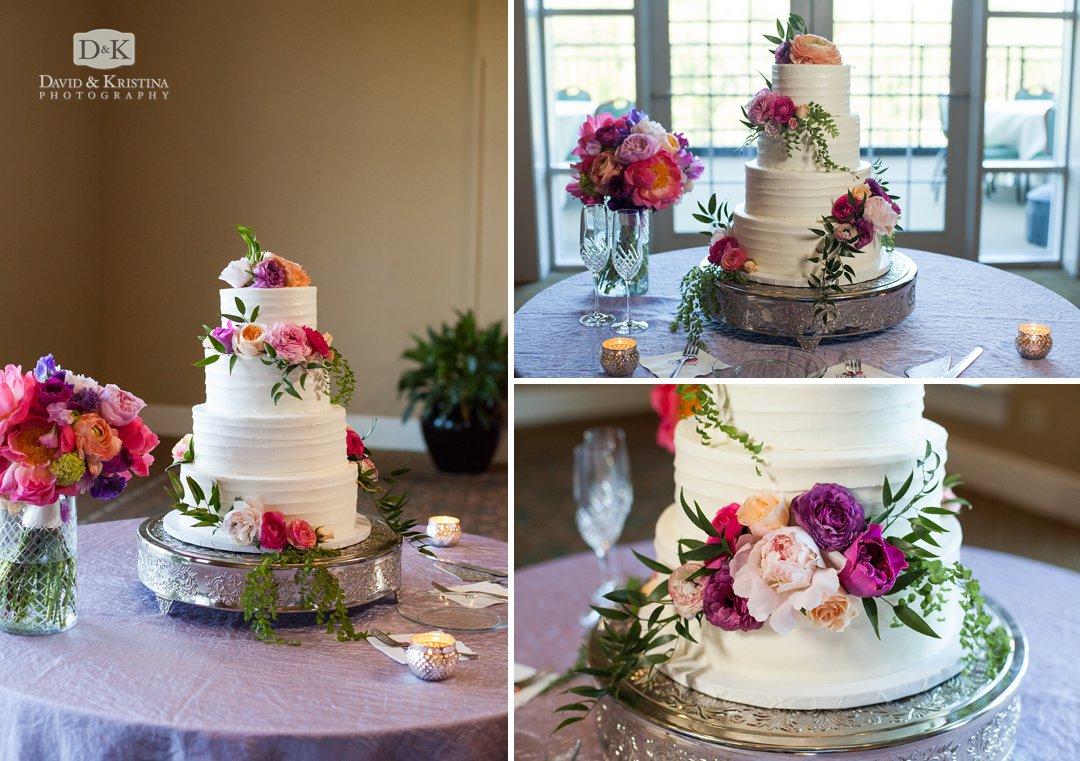 Wedding cake at Thornblade