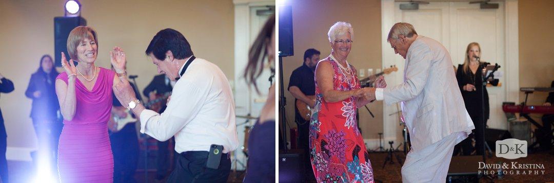 dancing at Thornblade reception